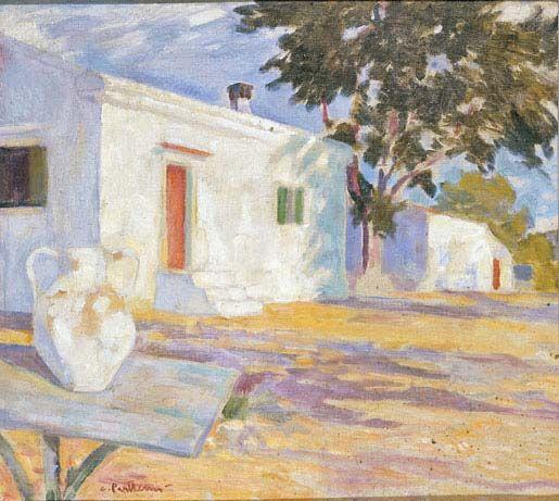 Konstantinos Parthenis, Landscape (Kaisariani)