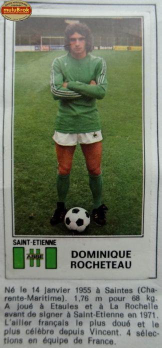 Football St-Etienne ... Dominique Rocheteau