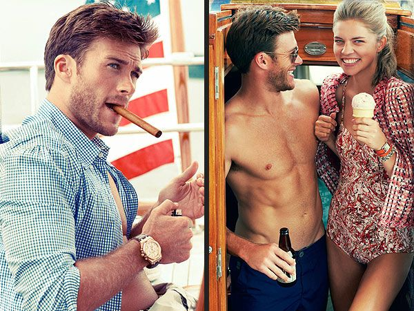 Scott Eastwood Follows In His Father's Footsteps. OMG...he looks Identical to Clint. Think I just died. SWOON. <3