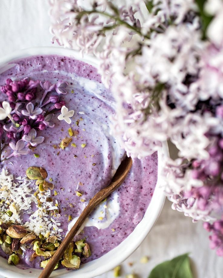 lilacs in my food - lilacs everywhere!