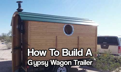 It combines the old-school look of a gypsy trailer with the modern amenities of a new camper. Description from shtfpreparedness.com. I searched for this on bing.com/images