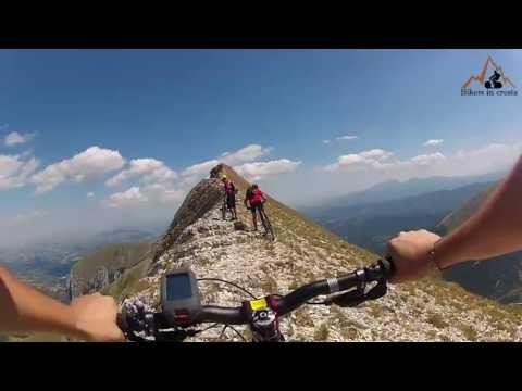 bikersincresta.com - Monte Sibilla - Zappacenere mtb - YouTube