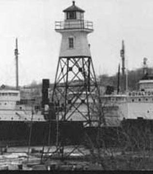 Goderich North Pier Rear Light #Goderich #RediscoverGoderich #VintageGoderich