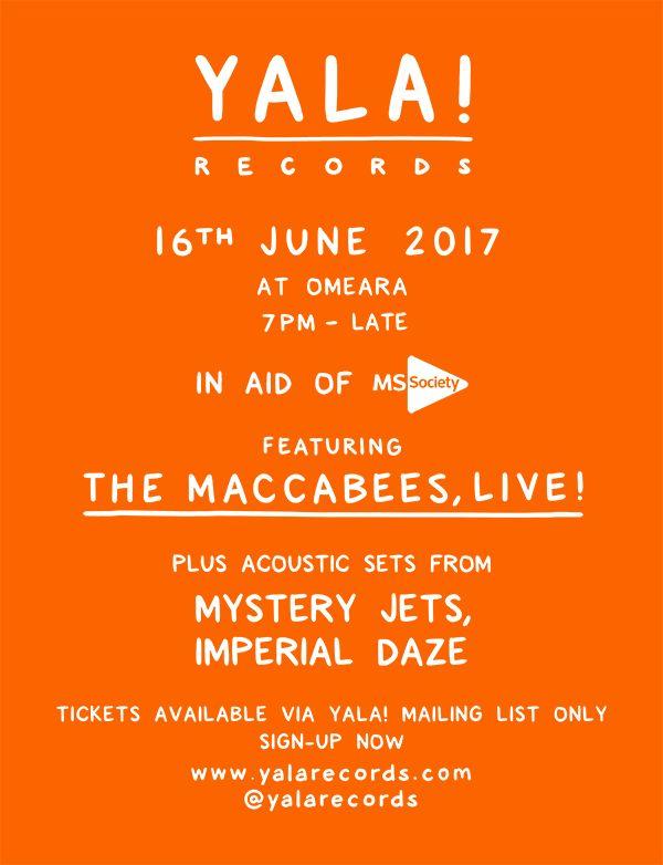 GoRockfest.Com: The Maccabees Tour Dates 2017