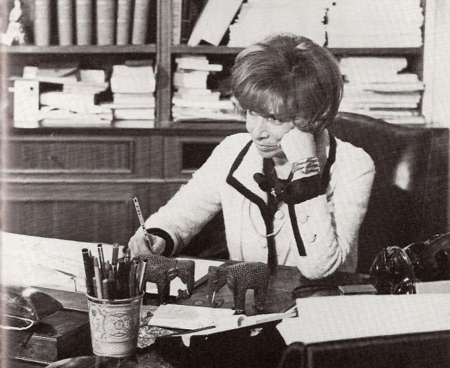 Hélène Lazareff, journalist & cofounder ELLE magazine.