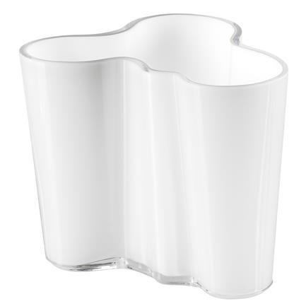 Aalto vase, opal white, Alvar Aalto, iittala