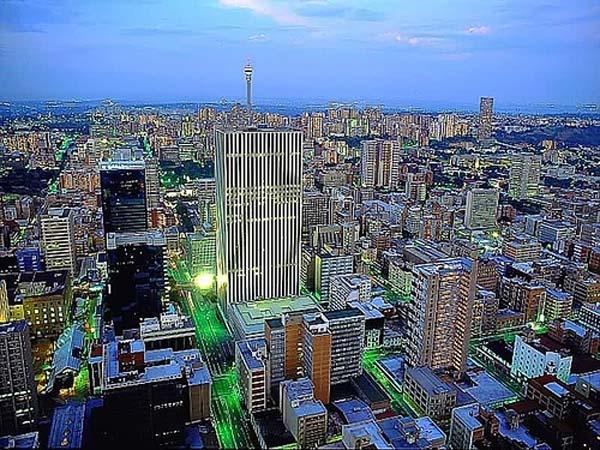 Viajes turísticos - destinos de viaje Sudáfrica - Johannesburgo
