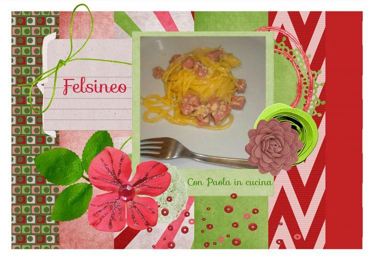 """Con Paola in cucina e tanto altro ancora: Ricetta """"Spaghetti al ragù di mortadella Felsineo""""..."""