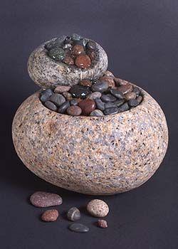 beautiful stone objects