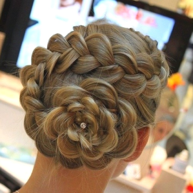 Admirable Cute Girls Hairstyles Girl Hairstyles And Flower Bun On Pinterest Hairstyle Inspiration Daily Dogsangcom