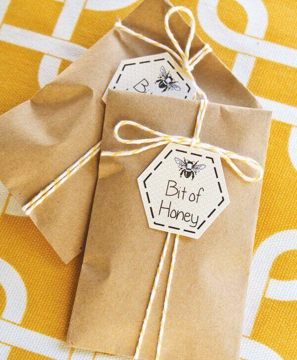 Boys Bumble Bee Themed Birthday Party Favor Ideas