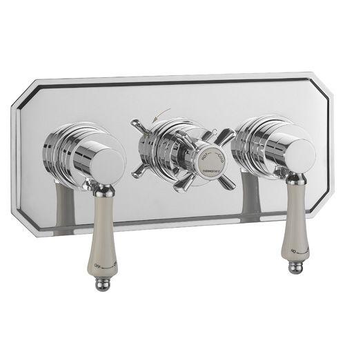 Bensham horizontal thermostatic shower bath valve - Bathstore.com £399