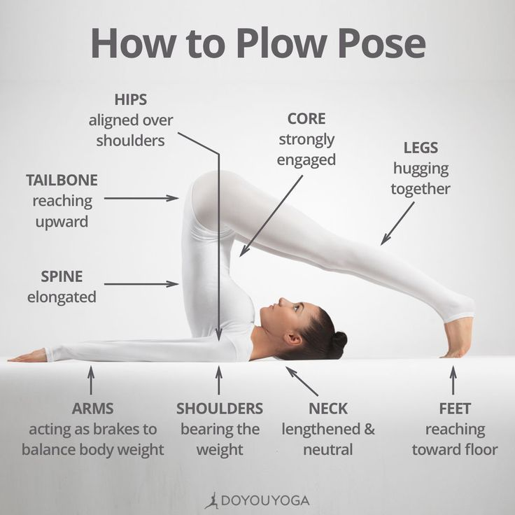 Tips on how to Do Plow Pose