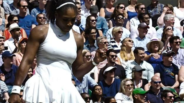 Serena Williams recites her favourite poem 'I Rise' by Maya Angelou before her Wimbledon final with Angelique Kerber.