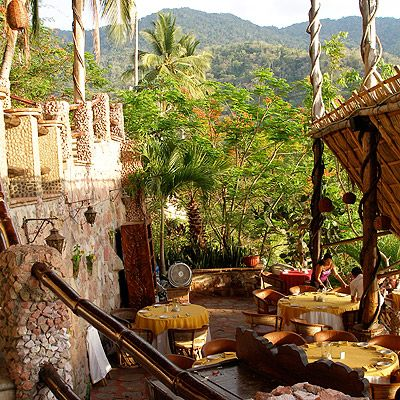 Peer into the lush rainforest from the edge of a cliff, at Le Kliff. How to get Joe there: Across the road is where they filmed the movie Predator.