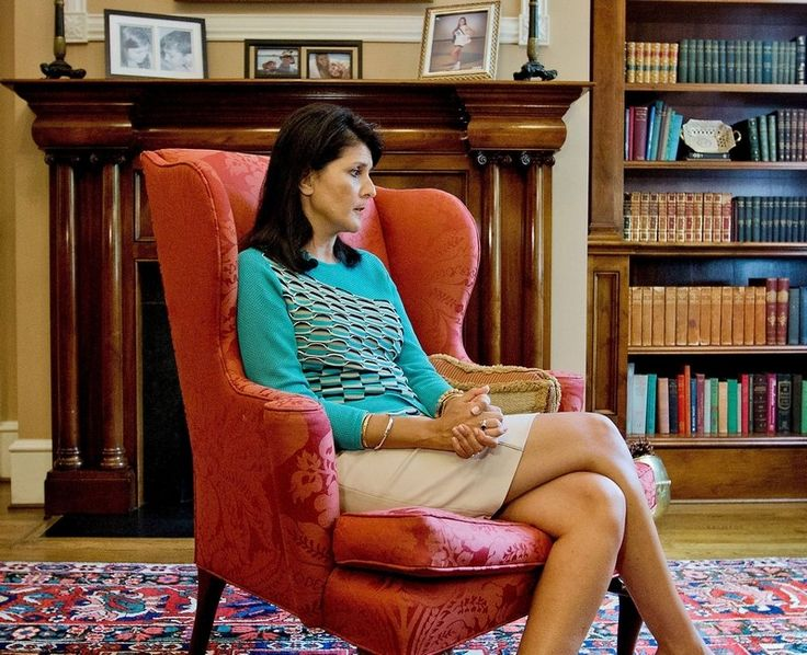 Gov. Haley discusses the time surrounding the killings at Emanuel AME Church during an interview last Tuesday at the governor's mansion in Columbia.