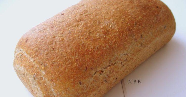 recept, brood, bakken, meel, bloem, lijnzaad,volkoren,deeg, gist