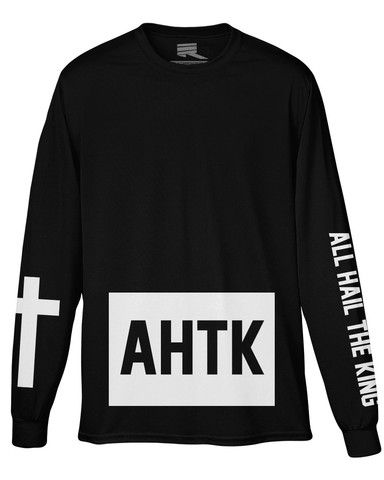 'All Hail The King' Long Sleeve T-Shirt - PREORDER