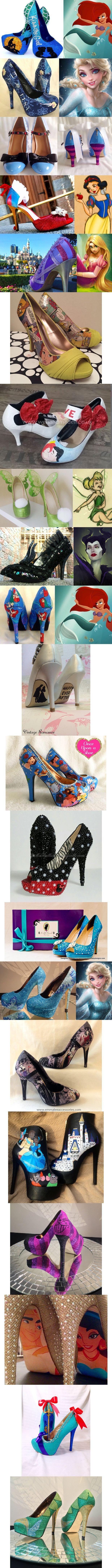 25 Disney Princess Inspired High Heel Shoes