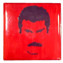 Freddie Mercury by Daniel, Brantford ON www.crockadoodle.com