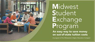 MSEP Rack Card | Midwest Student Exchange Program