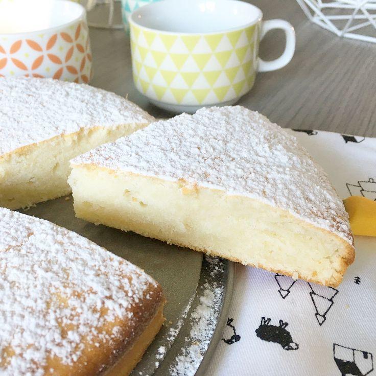 Gâteau à la Ricotta Recette inspirée d'un blog italien ici Pour un moule de 22/24 cm Ingrédients : 250 gr de farine 250 gr de ricotta 80 gr d'huile de tour