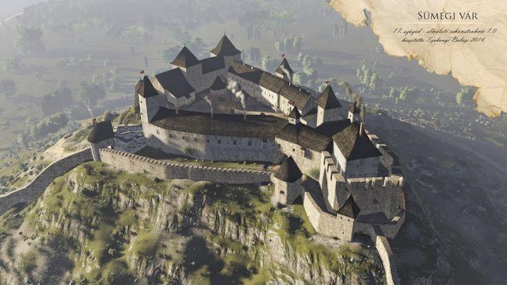 Így néztek ki legszebb középkori váraink | 24.hu