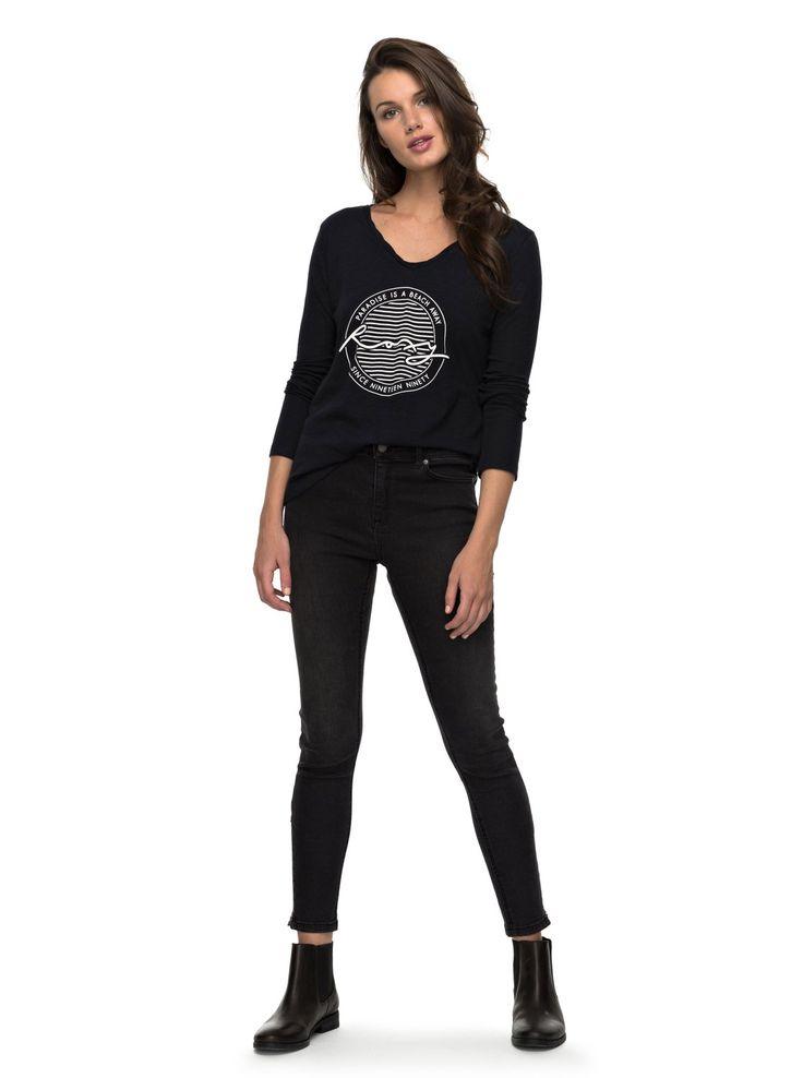 V Twist Paradise - T Shirt à manches longues 3613372943010 | Roxy