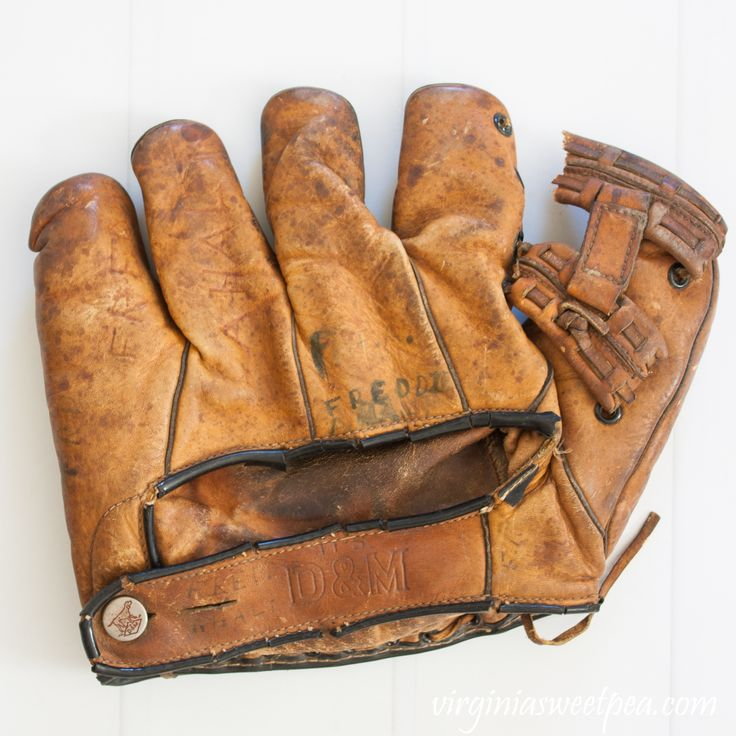 Investigating vintage baseball gloves gloves baseball