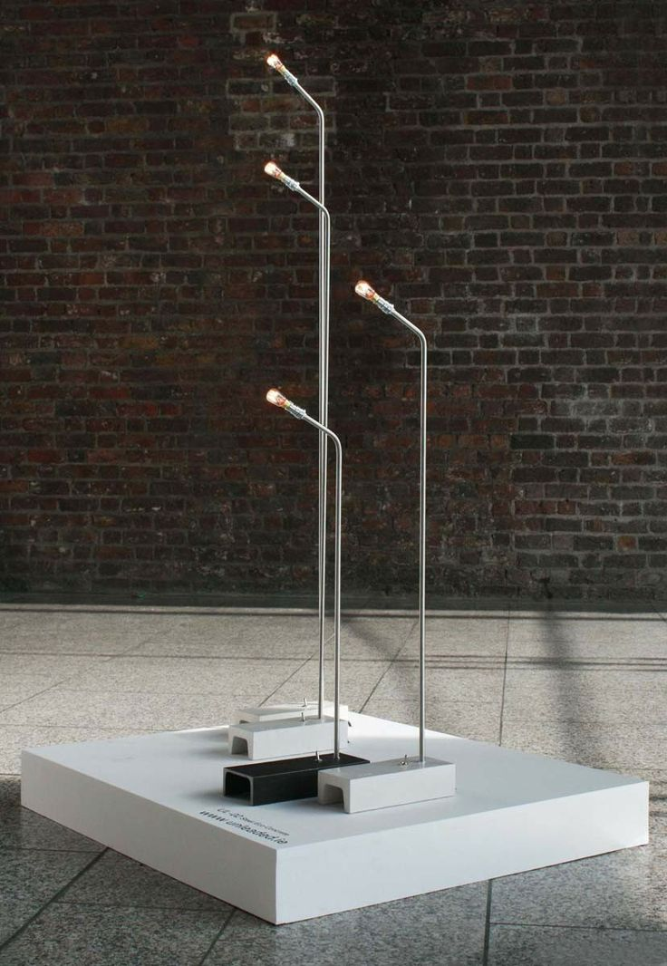 Lighting With Concrete Foundations Http://www.morfae.com/lighting