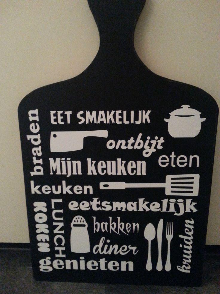 Tekstbord Voor Keuken : Keuken tekstbord Tekstborden Pinterest