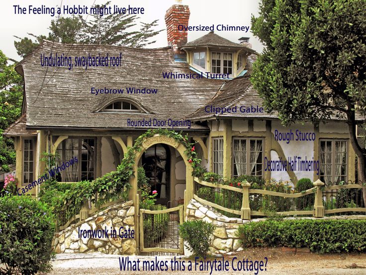 135 best storybook style images on pinterest cottages for Fairytale cottage home plans