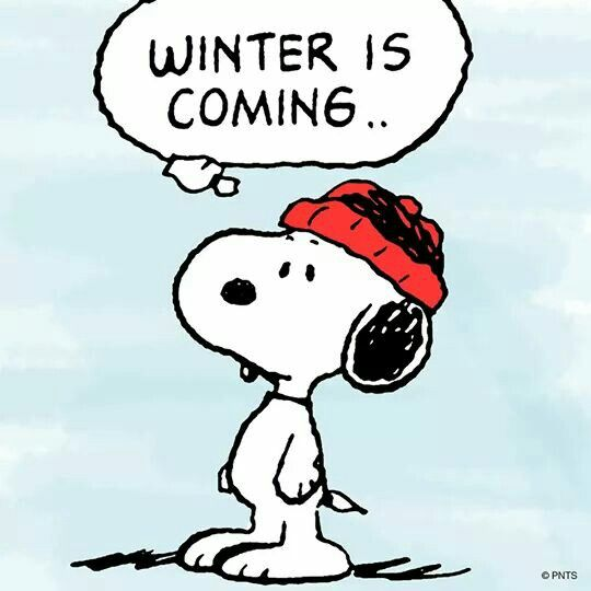 Snoopy in Game of Thrones.  :)