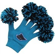 Carolina Panthers Panther Blue Spirit Fingerz. Lemme see those spirit fingers! #UltimateTailgate #Fanatics