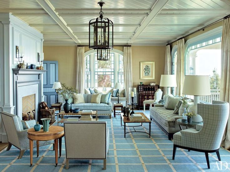 Living room a stunning hamptons house with modern meets victorian interiors the