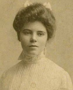 """Alice Paul - She went on a hunger strike where she was force fed raw eggs (down her nose) until she vomited blood. She was then put into a sanitorium with the hopes of being declared insane. Her doctor's reply said, """"Courage in women is often mistaken for insanity."""" Suffrage passed 3 years later - we need to readjust our definition of #HERO."""
