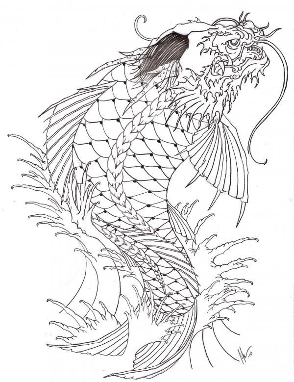 38 best images about koidragon on pinterest on back koi for Koi dragon meaning