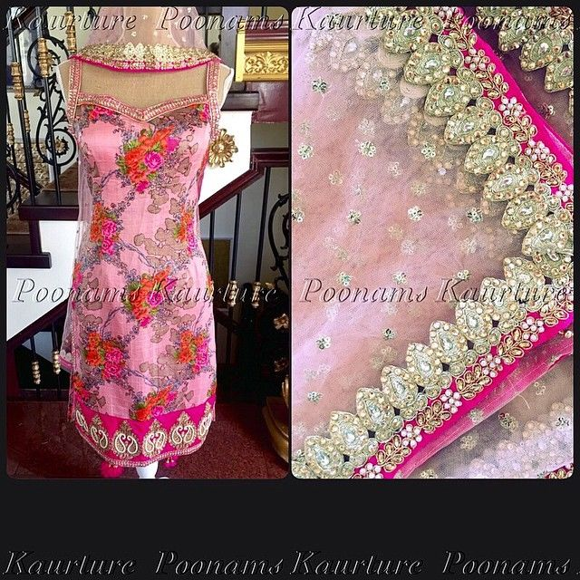 """1,854 Likes, 60 Comments - Poonams Kaurture™ (@poonamskaurture) on Instagram: """"Kaurture florals.. With floral fever still on the rise from my last collection, I always tell…"""""""