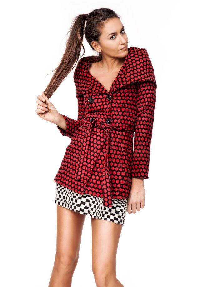 VolumeX with Eda Taşpınar Kaban Markafoni'de 179,90 TL yerine 89,99 TL! Satın almak için: http://www.markafoni.com/product/5707157/ #moda #edataspinar #siyah #kirmizi #yilbasi #stil #trend #modaikonu #look #fashion #style #stylish #celebrity #black #red #shoes #accessories #dress