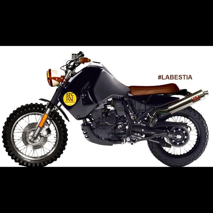 La bestia #KLR 650 kawasaki #LaCatatonia Motorcycles                                                                                                                                                                                 More