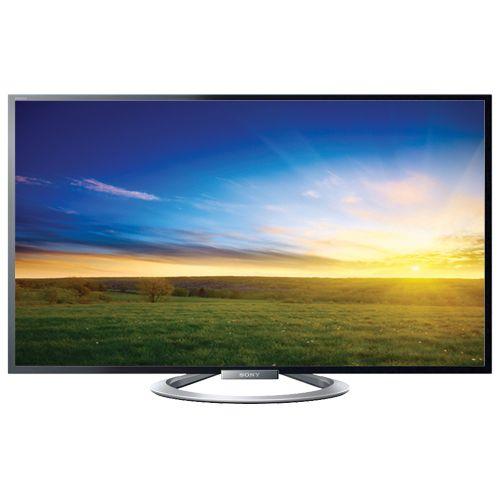 "Sony 47"" 1080p 240Hz 3D LED Smart TV (KDL47W802A) - Online Only #BBYSocialStudies"
