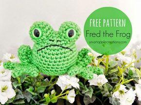 Amigurumi Frog – FREE Crochet Pattern / Tutorial