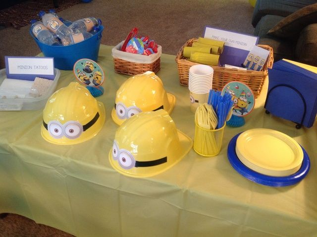 Cooper's Despicable Me / Minion Birthday Party. Age 4