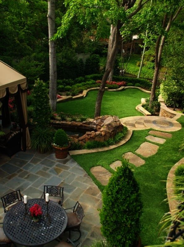 New At Landscaping Try These Tips Large Yard Landscaping Small Garden Design Backyard Landscaping Designs