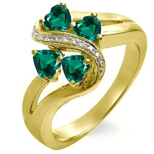 12 best Rings images on Pinterest Lab Emerald and Emerald rings