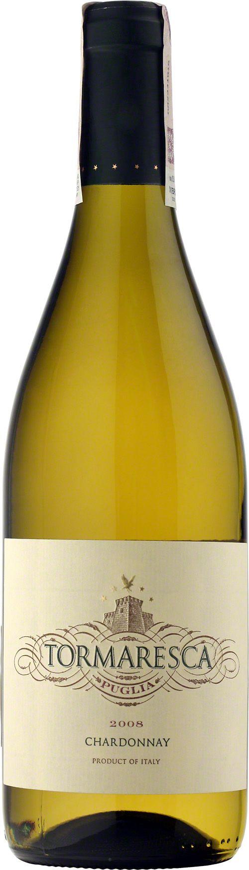 Tormaresca Chardonnay Puglia I.G.T.  Fermentacja tego wina przebiegała w beczkach dębowych z Allier i Troncais, dzięki czemu jego bukiet jest intensywny, pełen akcentów brzoskwiń, dojrzałych jabłek i wanilii. W ustach świeże, wyraziste. #Tormaresca #Chardonnay #Puglia #Wino #Wlochy #Winezja