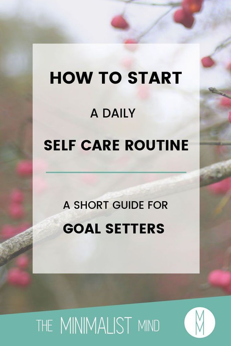 How do you rock the best version of yourself? Why, by starting a daily self care routine of course! Let me show you the basics in this short guide: