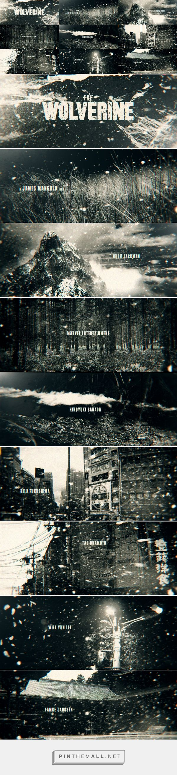 Pitch for Wolverine 2013 title sequence (2013)... - a grouped images picture - Pin Them All