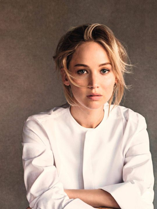 Jennifer Lawrence's shoot for Dior (2016)