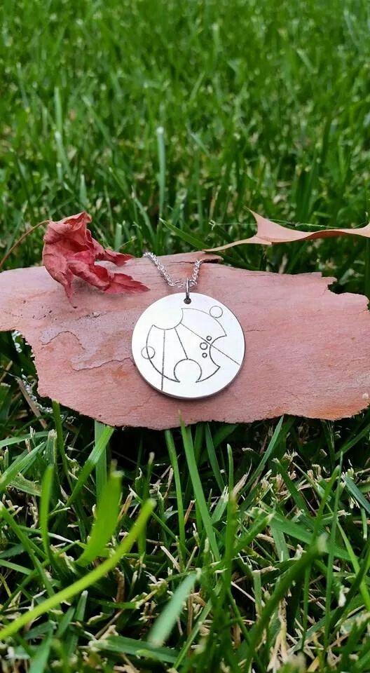 25mmsterling silver gallifreyan pendant. Says Grace. #gallifreyanpendants #doctorwho